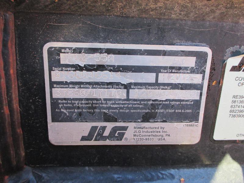 2012 JLG G12-55A-11
