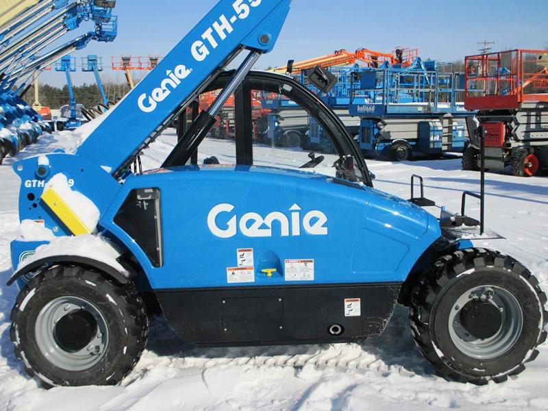2017 Genie GTH-5519-3