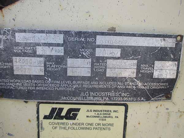 2006 JLG 3394RT-9