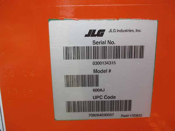 2008 JLG 600AJ-12
