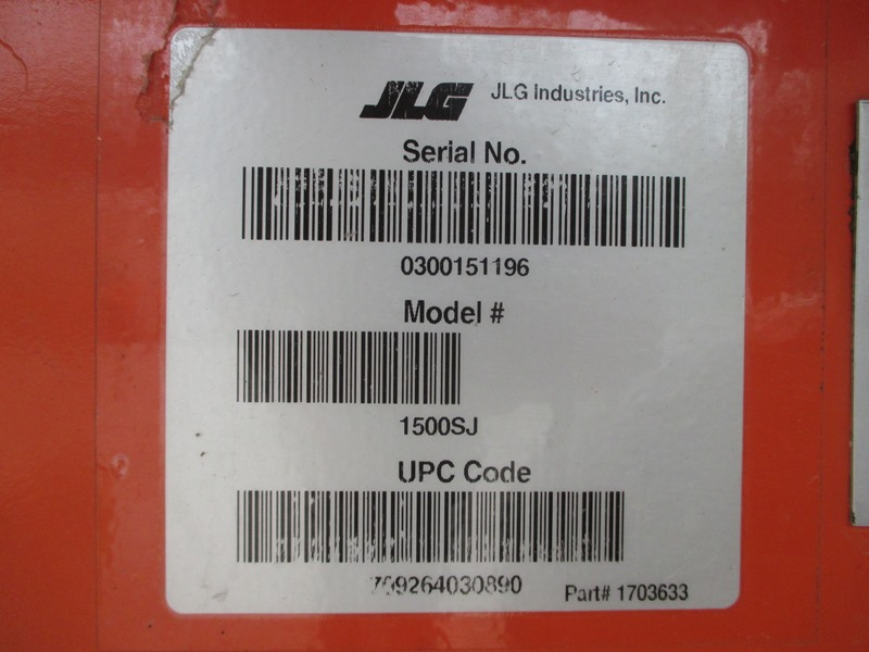 2011 JLG 1500SJ-13