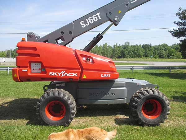 2017 SkyJack 66T-4