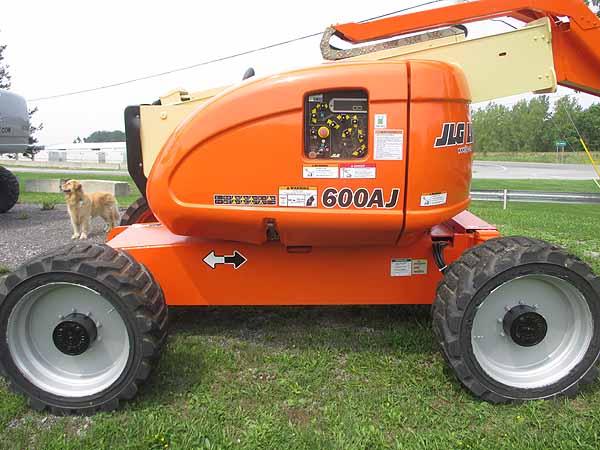 2008 JLG 600AJ-4