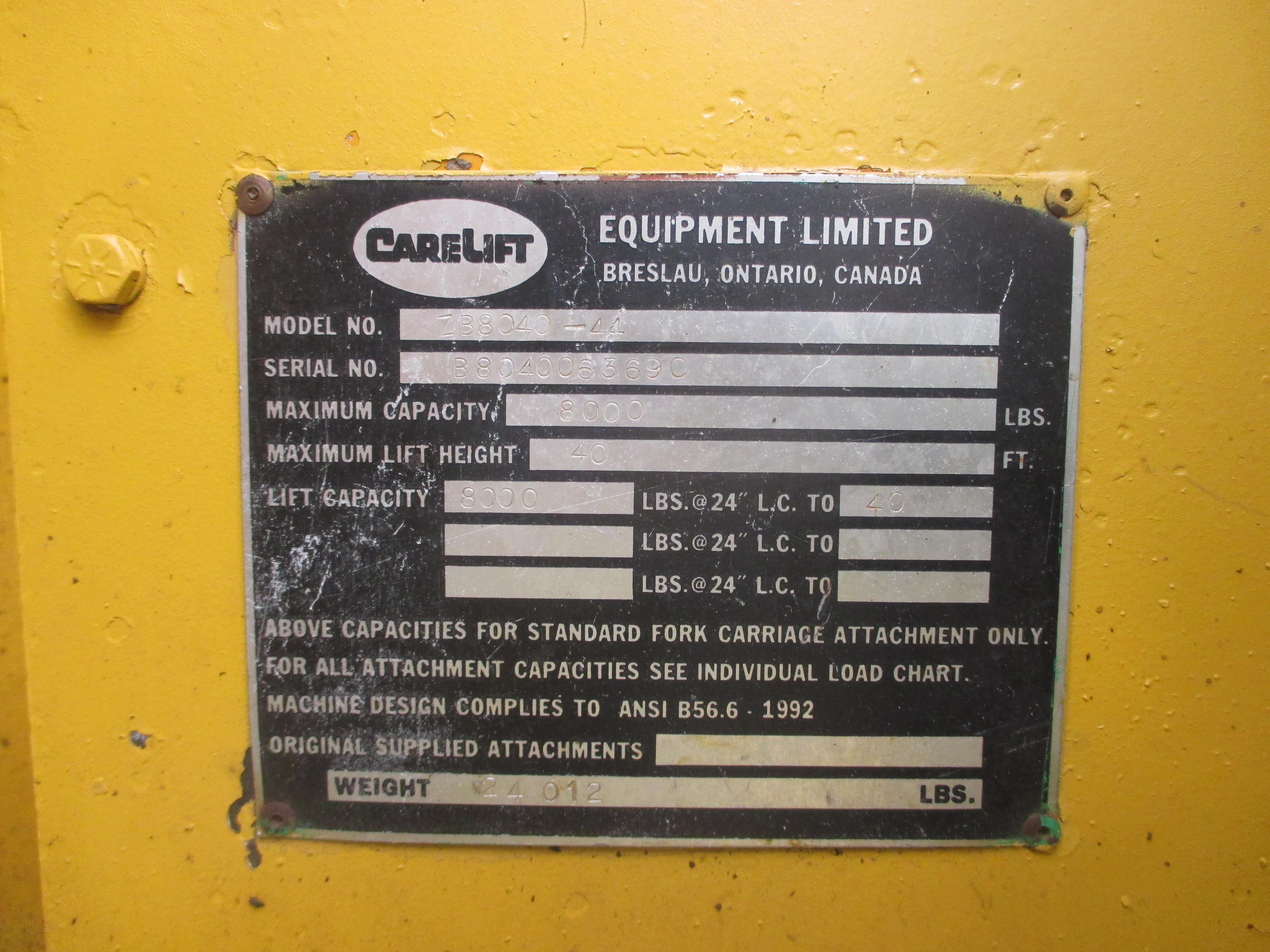 2000 Carelift 8040-10