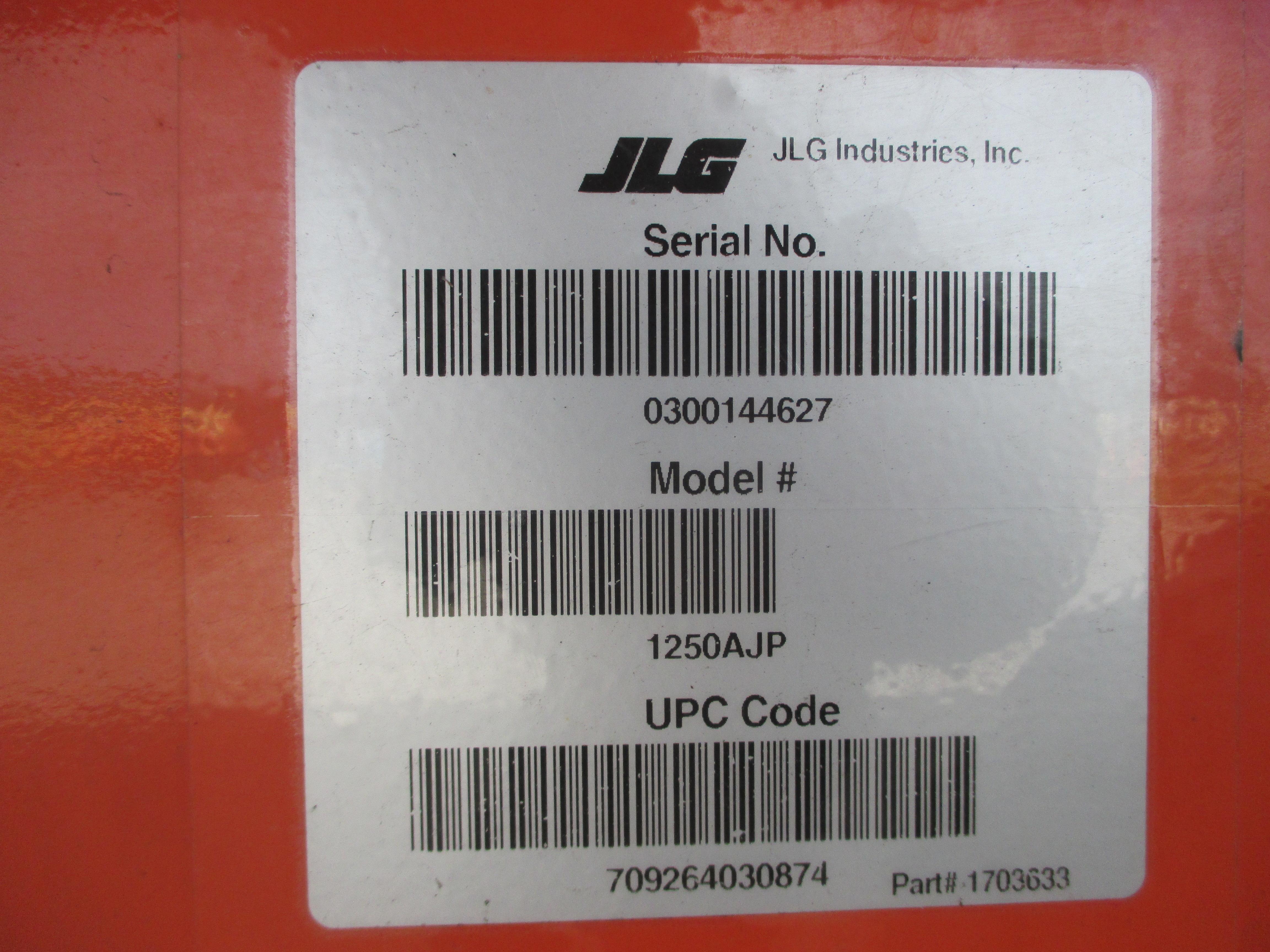 2011 JLG 1250AJP-15