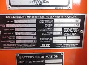 2015 JLG E450AJ-11