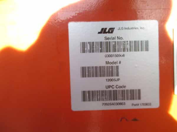 2011 JLG 1200SJP-13