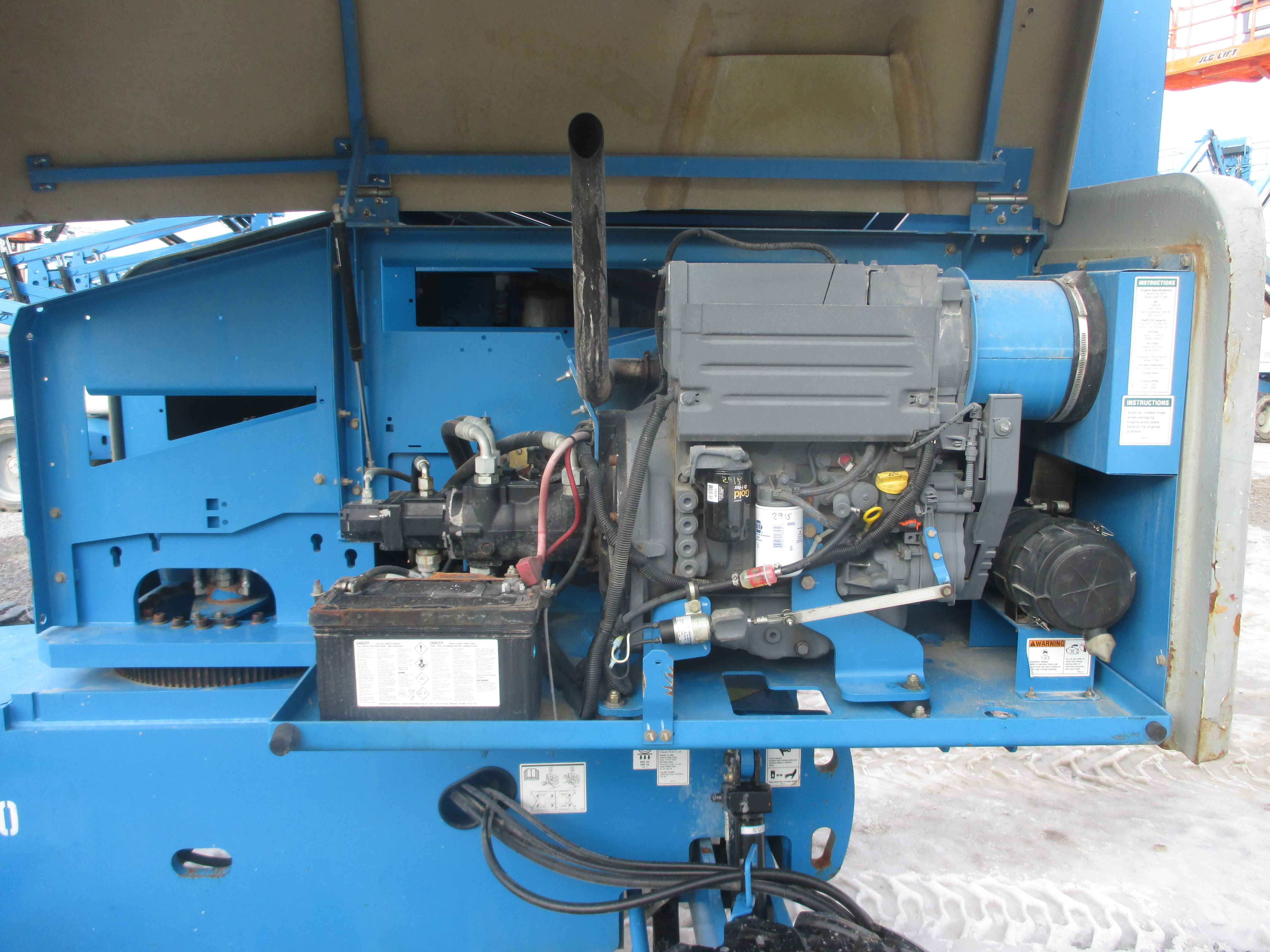 2011 Genie S45-9